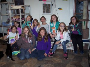 Chambersburg Junior Scouts Group had a kitty party at Better Days!
