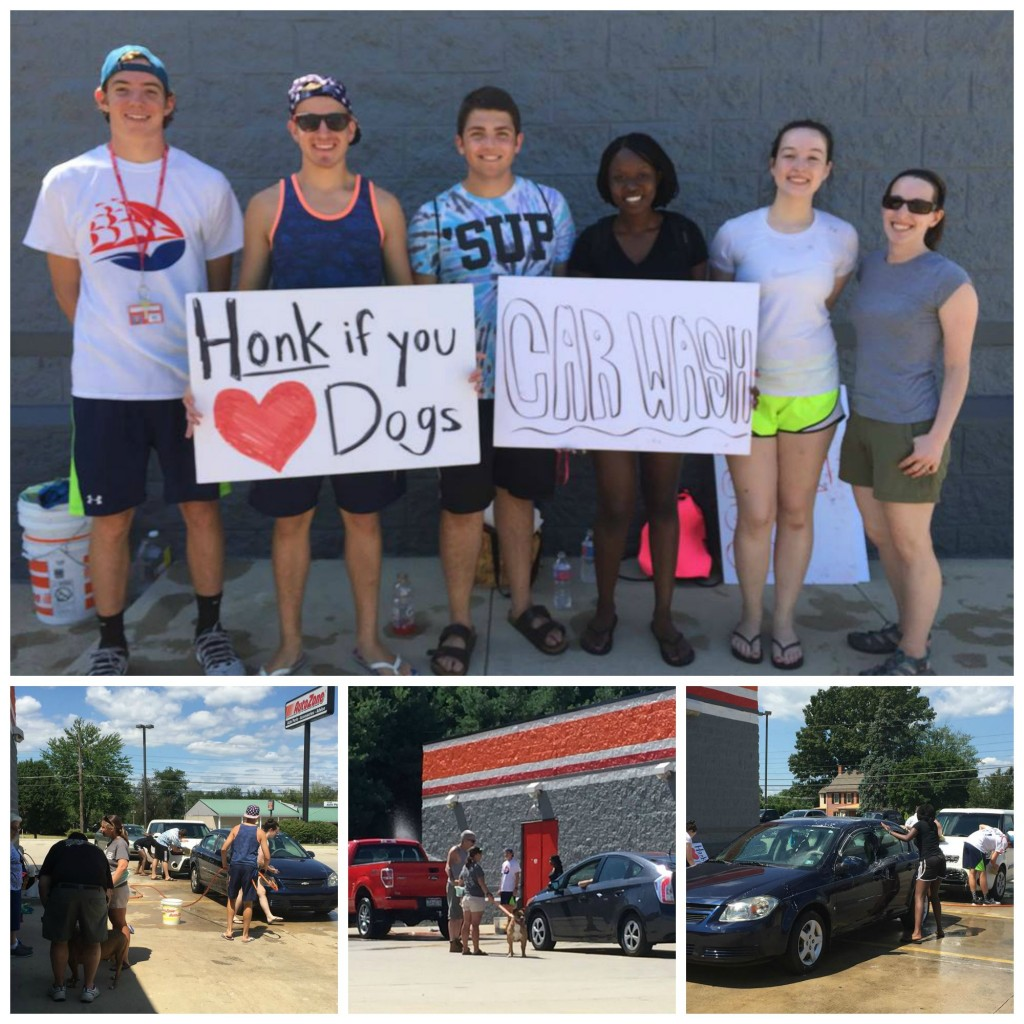 Thank you Shippensburg students and faculty for arranging a car wash to benefit BDAL!